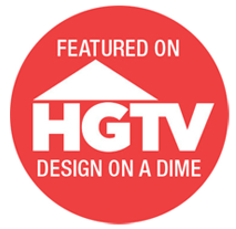 Featured On HGTV - Design On A Dime